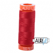 Aurifil 50 Cotton Thread - 2265 (Lobster Red)